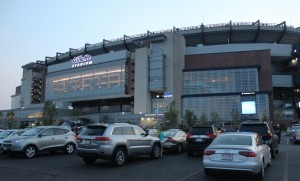 Gillette Stadium where Brazil plays against Peru. Photo Niyi Fote