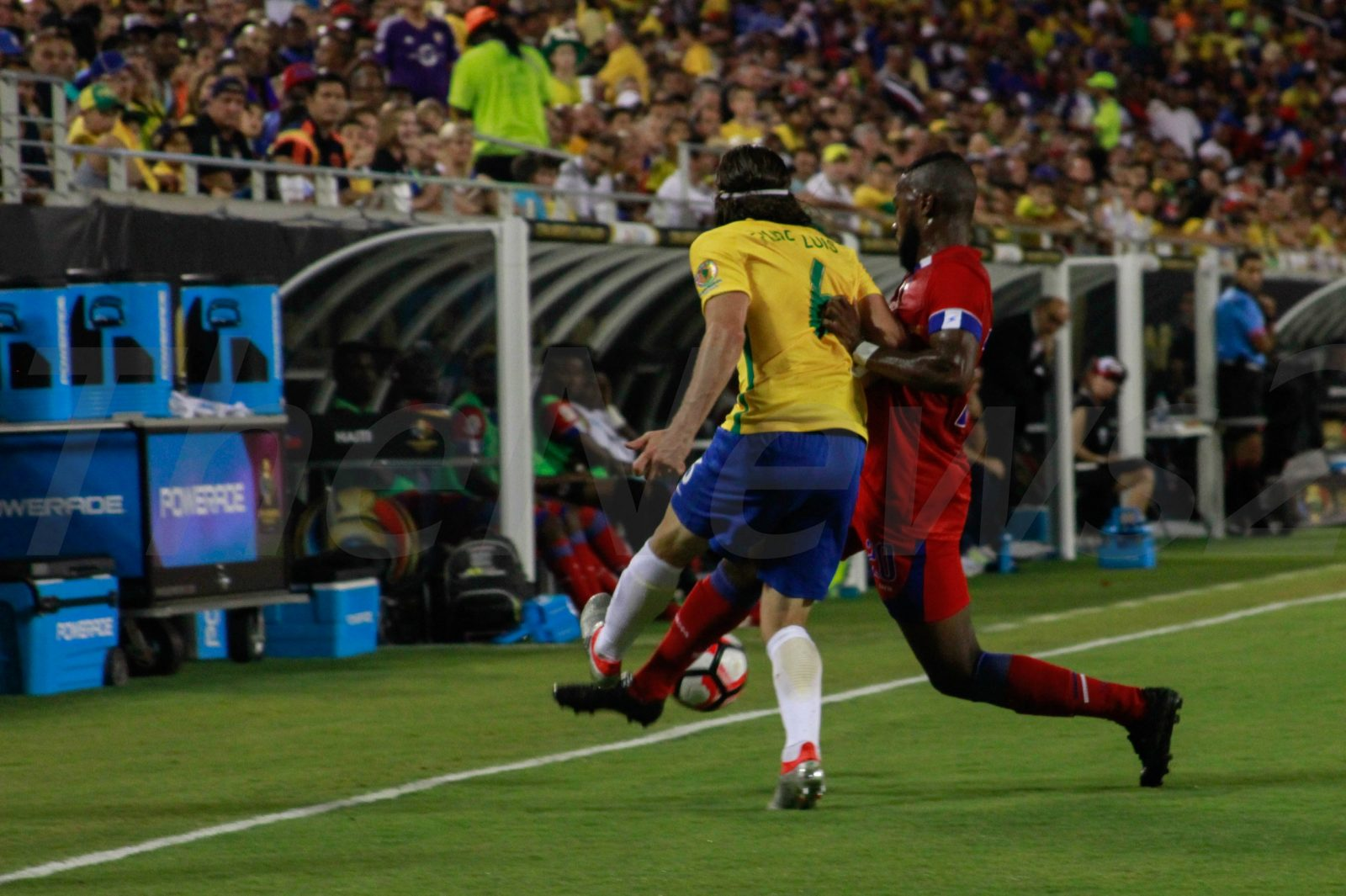 Brazil`s 7-1 loss to Germany now revenged on Haiti..