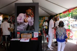Patricia Chin at 1st Grace Jamaican Jerk Festival in Washington DC. Photos Niyi Fote