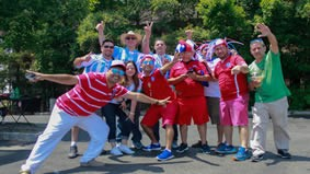 Chilean and Argentinean Fans fight over who wins Copa America 2016 and ask where is Brazil?