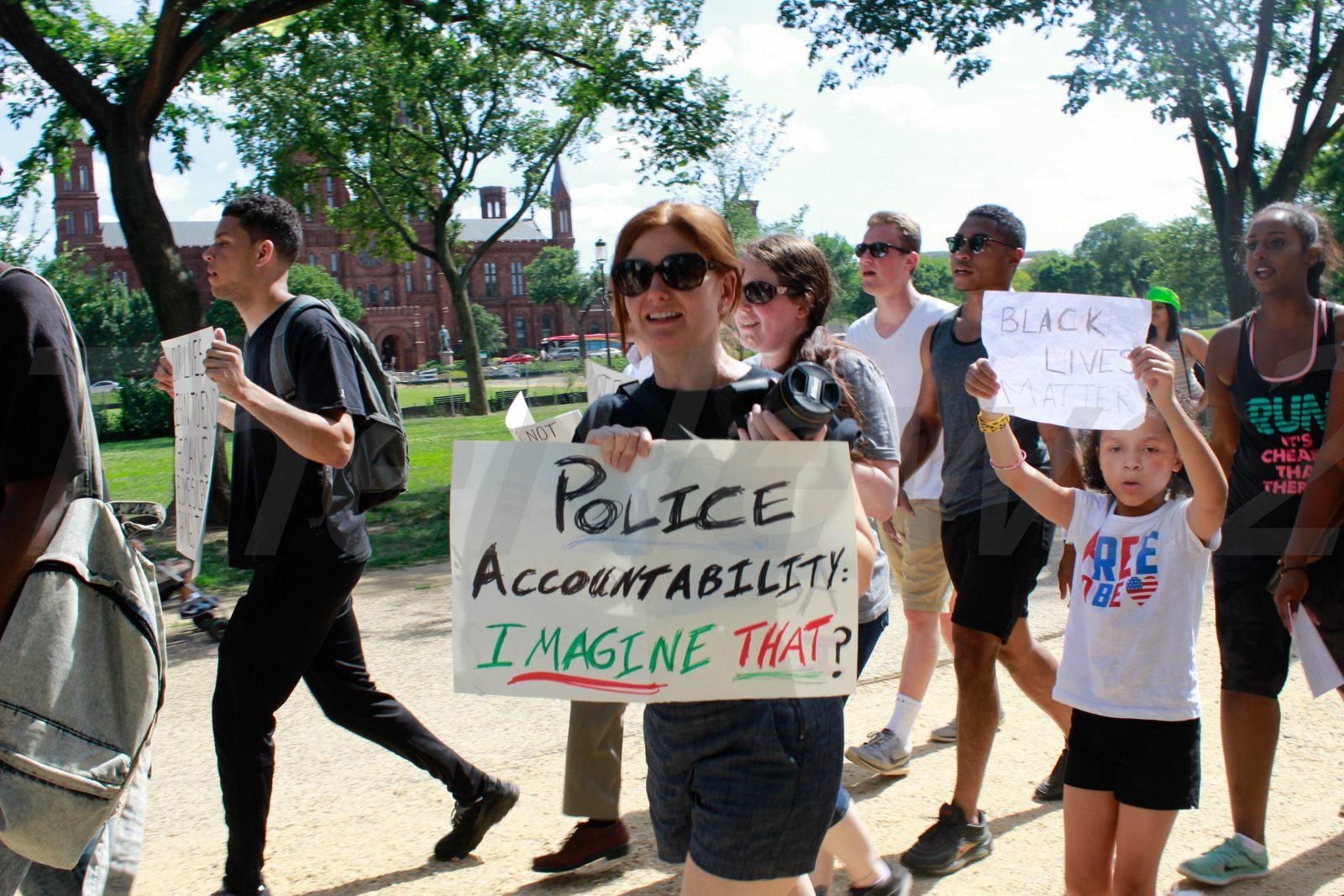 Black Lives Matter Protests against Police killings of Black in USA