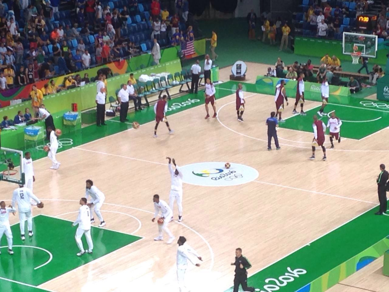 Basketball-USA 113-Venezuela 69-Rio 2016
