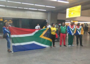 South African Soccer Team  -Photos Niyi Fote