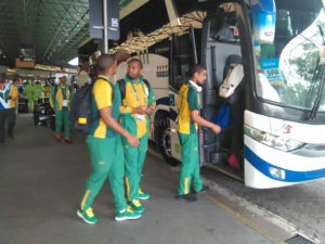 South African Soccer Team -Rio 2016 Olympics .Photos Niyi Fote