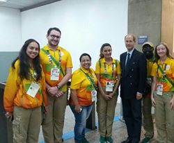 AAD Airport Team with Prince Ewdard-Earl Of Wessex