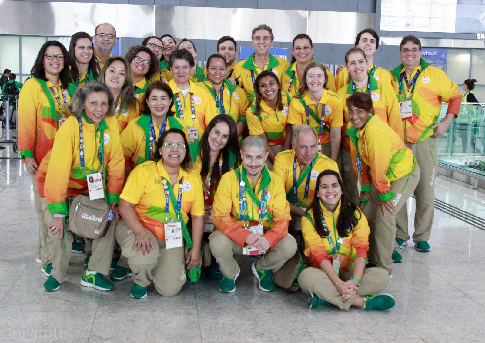 Rio 2016 AAD Guarulhos Volunteers Airport Team-Sao Paulo