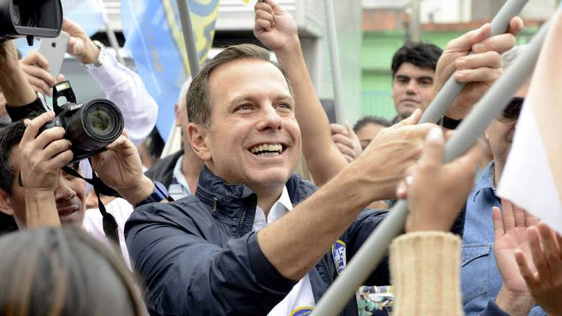 Joao Doria elected as New Mayor of Sao Paulo ,the biggest city of Brazil