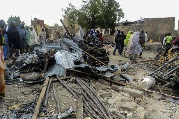 Two female suicide bombers killed 57 in Nigeria