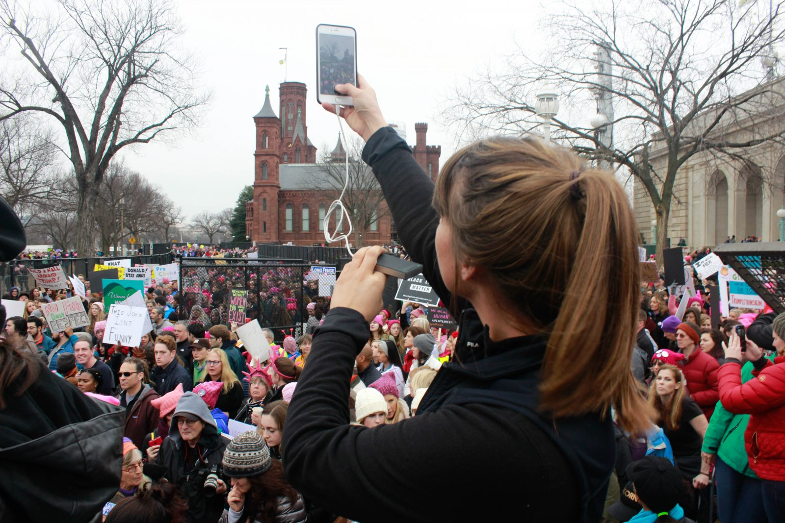 Women`s March & Protest against Donald Trump in Washington DC