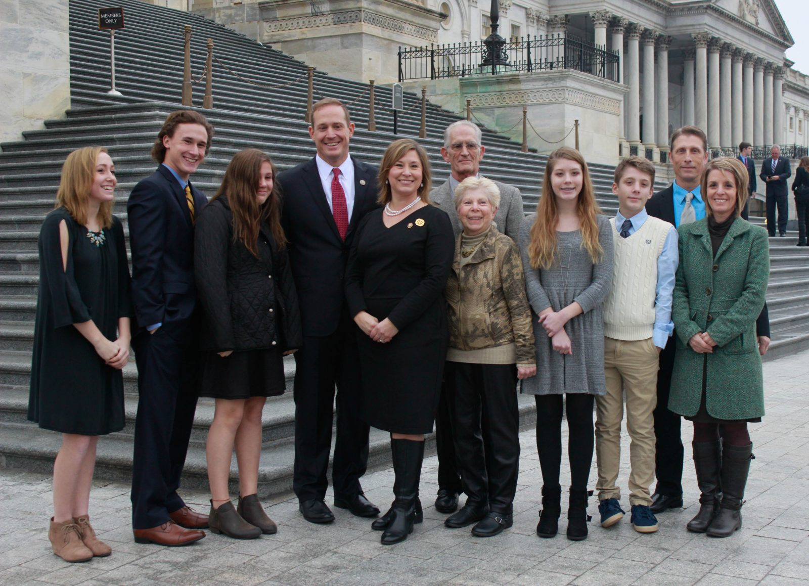 Congressman Ted P.Budd Sworn in at Capitol Hill