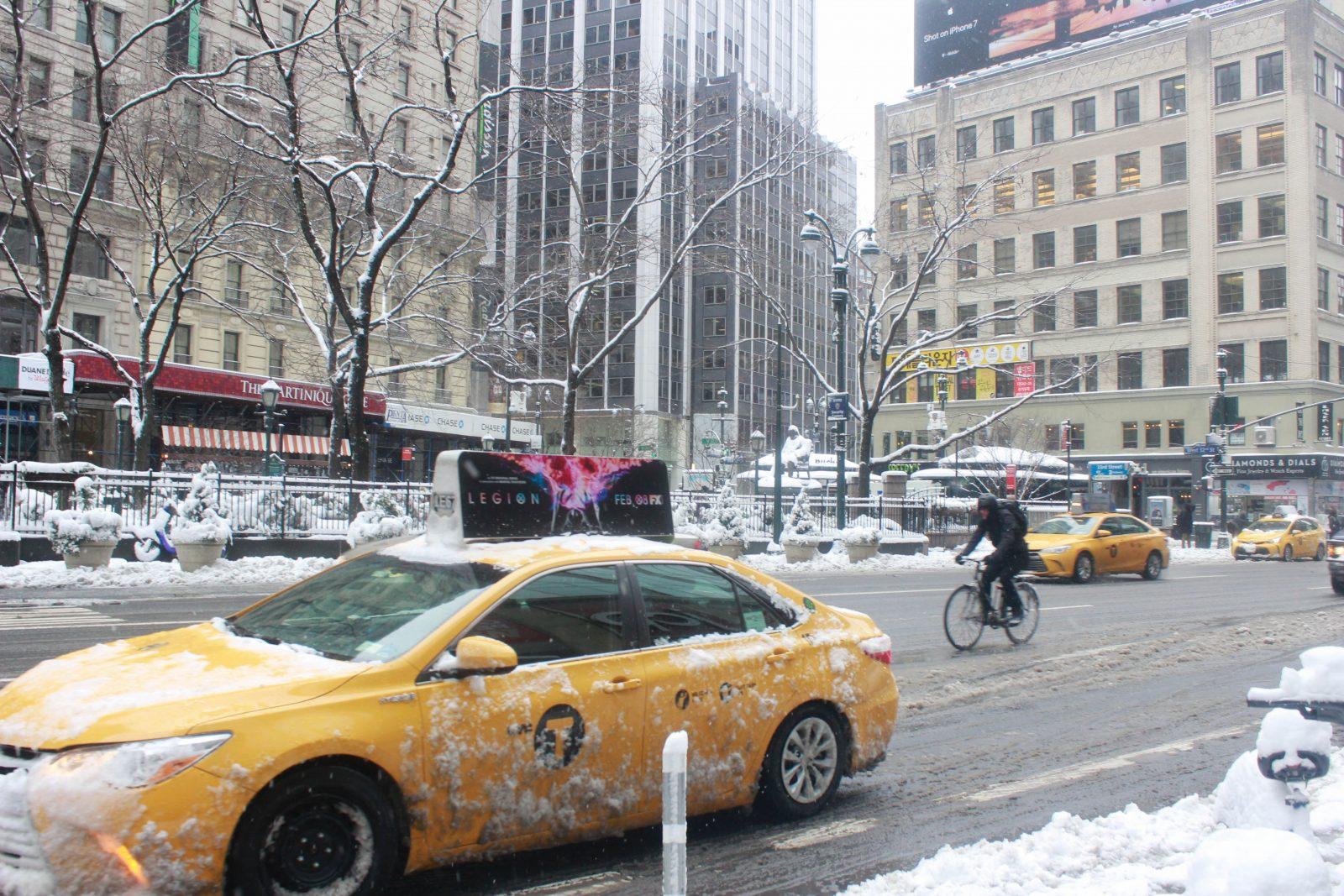 Blizard In New York & New Jersey