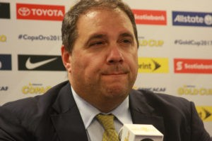 President of CONCACAF       Victor Montaliani          Photo Niyi Fote