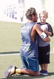 Neymar Jr & Davi Lucca his son