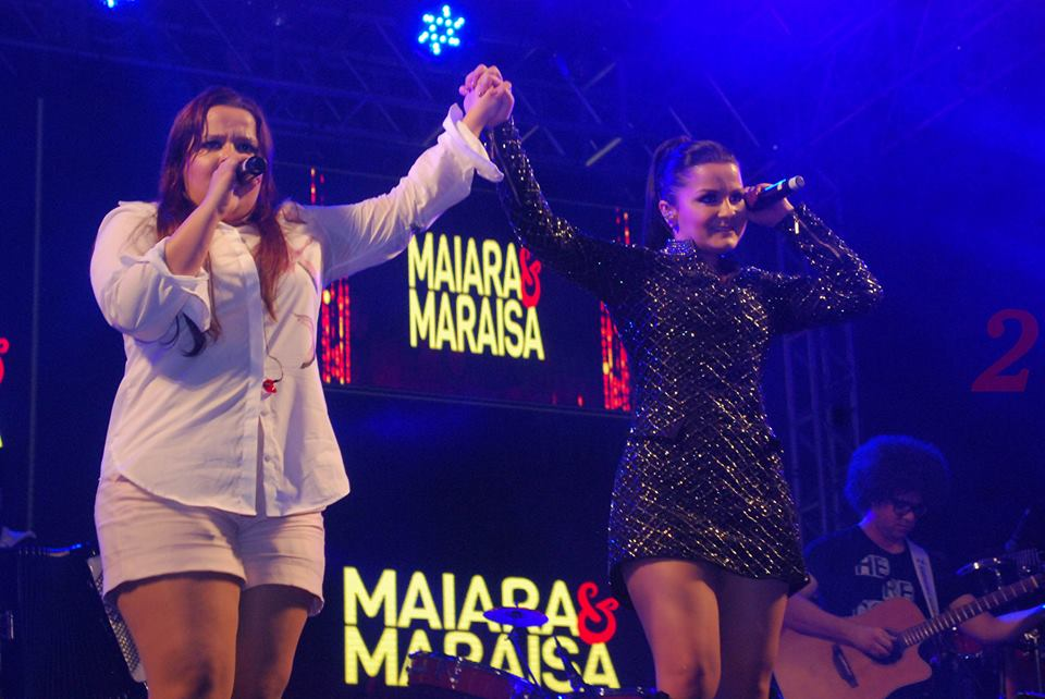 The Unforgetable show of Maiara & Maraisa at CTN-Sao Paulo