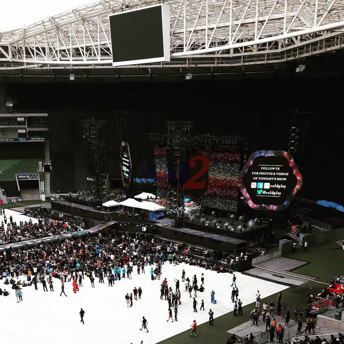 Coldplay Megashow -Brazil 2017