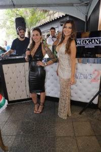 DJ Marcelo N.A.S.S.I/Singer Sabrina Caldana & Amanda Françozo