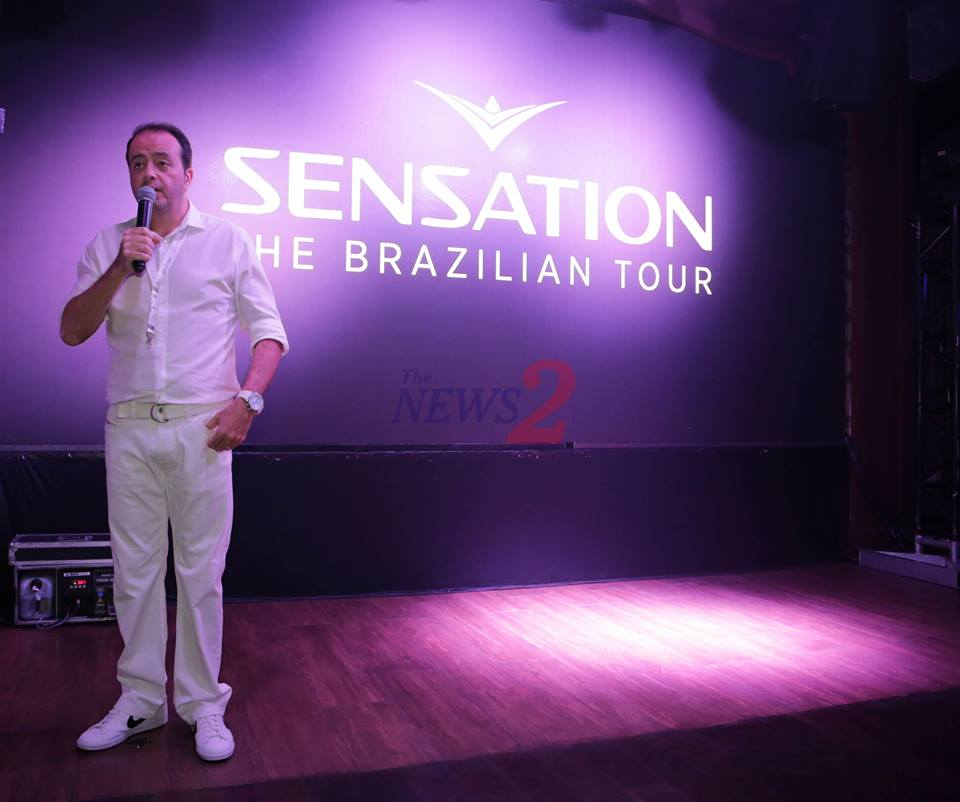 SENSATION BRAZILIAN TOUR 2018