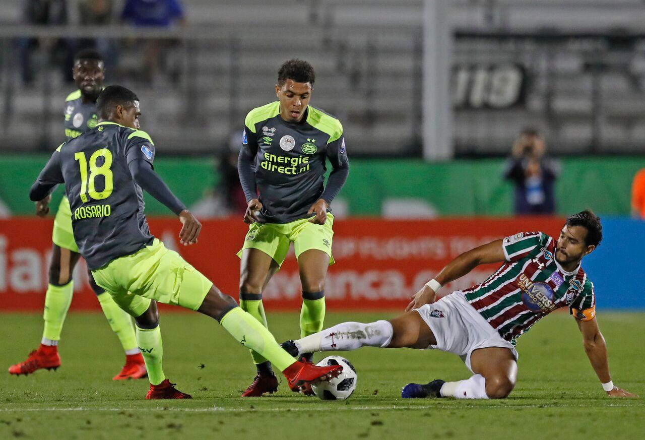Final score-PSV EINDHOVEN (5) 1 X 1 (4) FLUMINENSE-FLORIDA CUP 2018