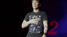 James Blunt sings in Sao Paulo