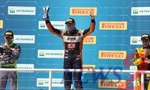 Gabriel Robe won Stock Car  Light Brazil 2018 Race 1