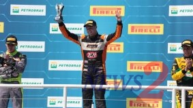 Gabriel Robe won Stock Car  Light Brazil 2018 Race 1