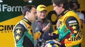 Felipe Massa & Caca Bueno duet at Stock Car Light Brazil-Training