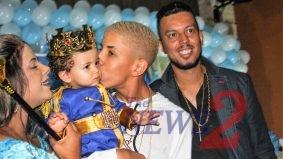 Davi,Brother of Brazilian MC Don Juan celebrated his one year old birthday