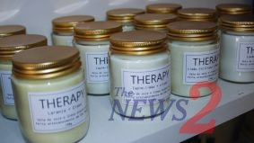 Launching of Therapy Natural Scented Candles