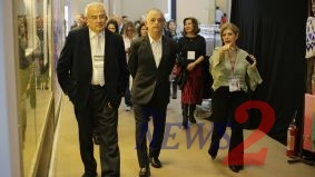 Famous People At 50th Francal Fair in Sao Paulo
