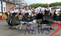 Oktoberfest has kicked off in Brazil