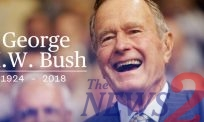 The Death of George H W Bush,American 41st President
