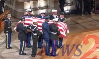 George H W Bush Finally Laid to Rest