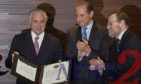 Brazilian President Michel Temer Receives An Award