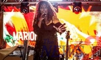 Jamaican Singer Marion K, Sings In a Private Party in Sao Paulo