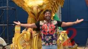 "Sebah Vieira Is The Spotlight of ""Aguia De Ouro"" Samba School 2019"