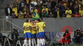 In preparation for the Copa América, Brazil beat Qatar 2-0