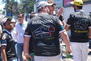 Some fans wants Rubens Barrichello (Former Brazilian Formula 1 driver )to come back