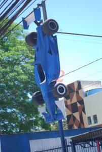 Racing Car in exposition