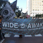 Artists march through New York proclaiming a new vision for justice