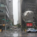 Columbus Day Holiday celebrated amid Covid-19 and rainfall in New York .